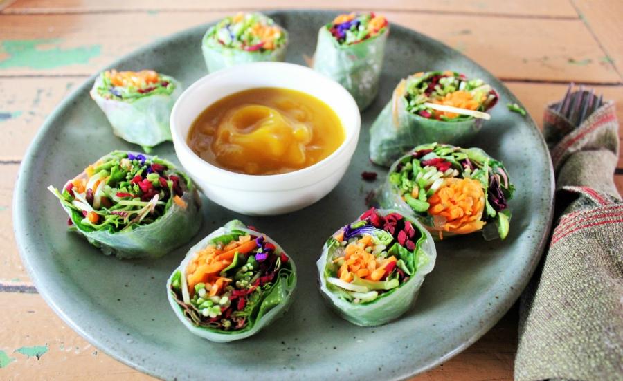 neuen Kochmethoden beim vegetarisches Catering