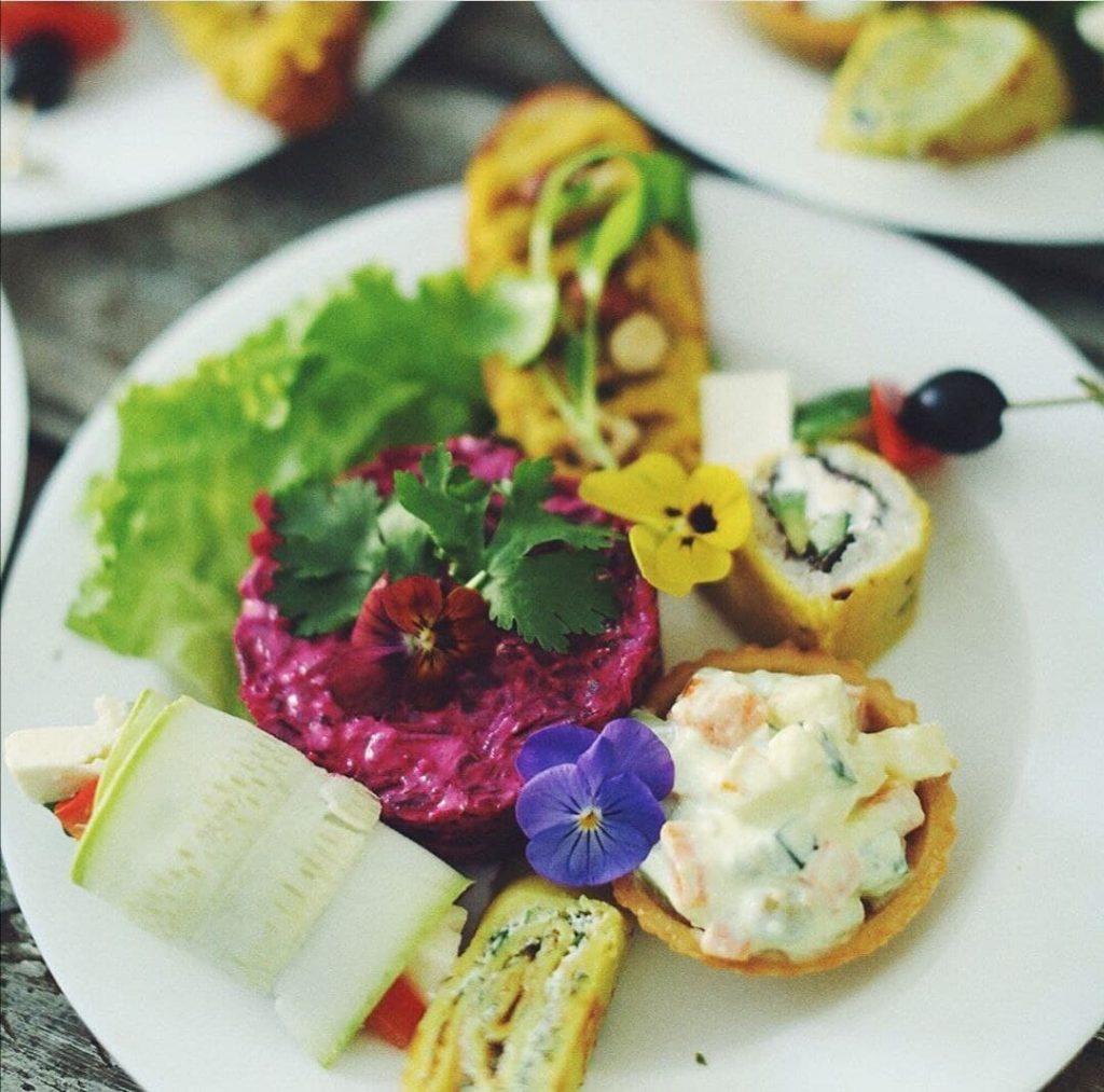 vegetarisches Cateringserviece