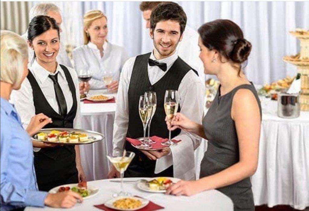 Catering auf der Konferenz
