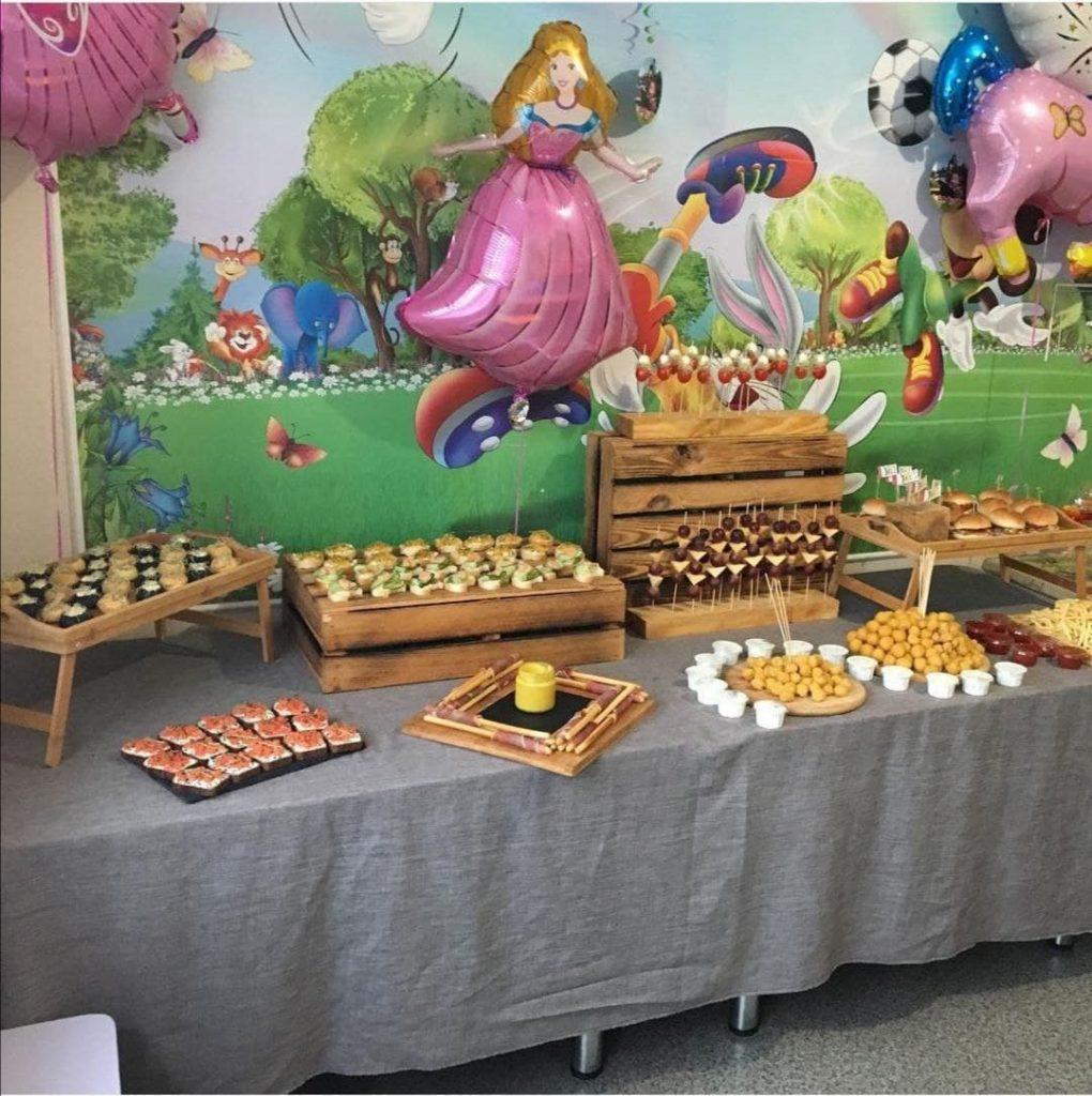 Catering für ein Kinderfest